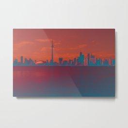 CN Tower skyline Metal Print