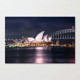 Opera House Sydney Canvas Print