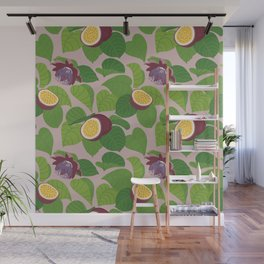 Passion Fruit Wall Mural