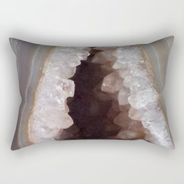 Geode Crystal Cavern Rectangular Pillow