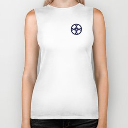 Celtic Knot Blue & Gold Biker Tank