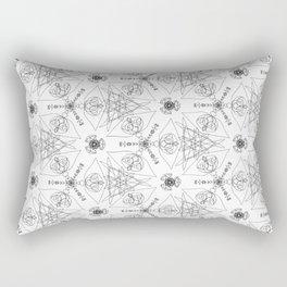 wrapping paper pattern Rectangular Pillow