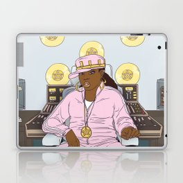 Queen of Pentacles - Missy Elliott Laptop & iPad Skin