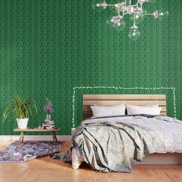 Emerald marble swirl Wallpaper