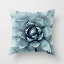 Agave Print, Cactus Print, Succulent Art Throw Pillow