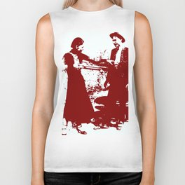 Bonnie and Clyde Biker Tank