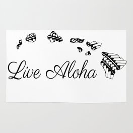 Live Aloha Rug