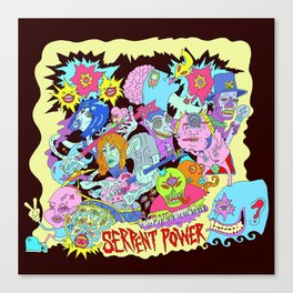 Serpent Power Album Cover Canvas Print