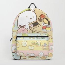 Animals Eat Sushi Backpack