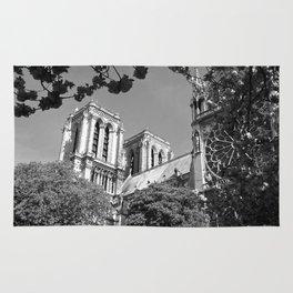 Notre Dame in Spingtime Rug