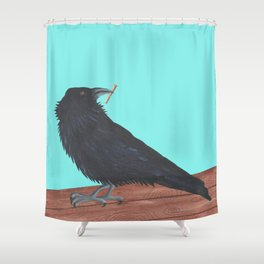 Scavenger Shower Curtain