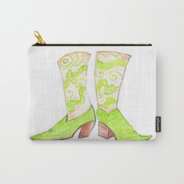 Crazy Cowgirl Boots Carry-All Pouch