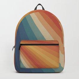 Retro 70s Sunrays Backpack