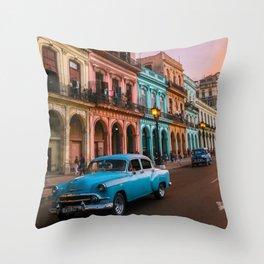 Colorful Havana Throw Pillow