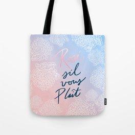 Rosé S'il Vous Plaît Tote Bag