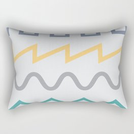 Waveform Rectangular Pillow