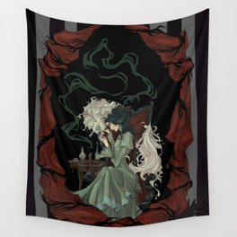 Tragically Ever After: Mina Wall Tapestry