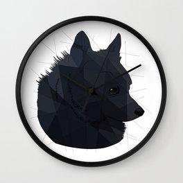 Schipperke Wall Clock