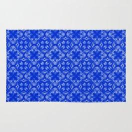 Sapphire Blue Shadows Rug