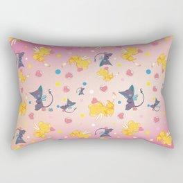 Spinell & Kerochan Pattern Rectangular Pillow