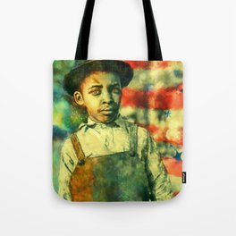 Face of Greatness Tote Bag