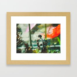 At the Conservatory Framed Art Print
