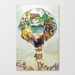 This is Venezuela Canvas Print