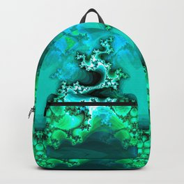 Here be Dragons (emerald green) Backpack