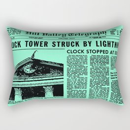 Back To The Future  Rectangular Pillow