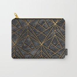 Elegant geometric modern rock Carry-All Pouch