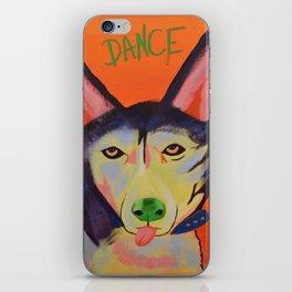 Dance Dog iPhone Skin