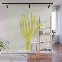 Modern Cactus Wall Mural
