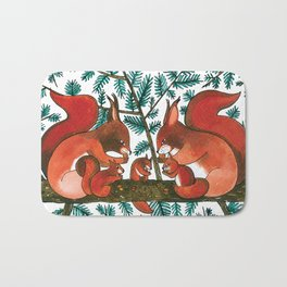 Noah's Ark - Squirrel Bath Mat