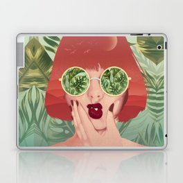 BEACH VIBES Laptop & iPad Skin