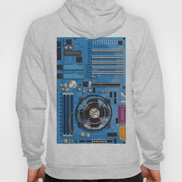 Computer Motherboard Hoody