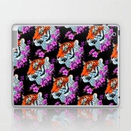 Pattern Flower tiger Laptop & iPad Skin