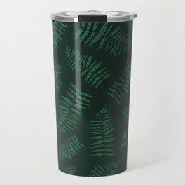 FERN PATTERN {deep forest} Travel Mug