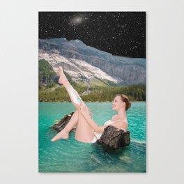Night Shave Canvas Print