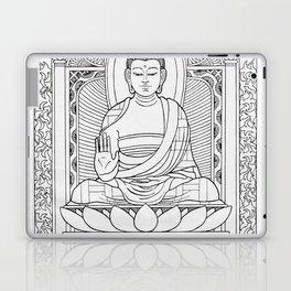 Buddha Black & White Laptop & iPad Skin