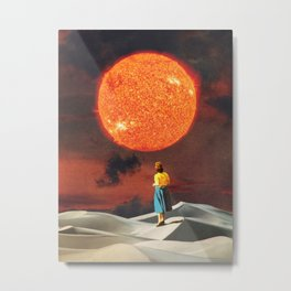 Your Heart Is The Sun Metal Print