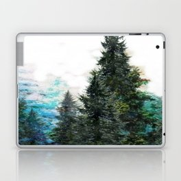 GREEN MOUNTAIN PINES LANDSCAPE Laptop & iPad Skin
