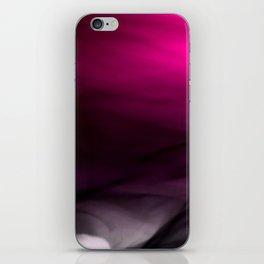 Pink Flames Pink to Black Gradient iPhone Skin