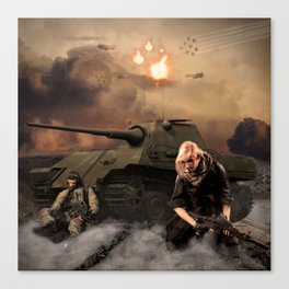 War Never is Good Canvas Print