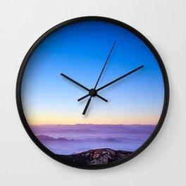 Simplicity Is Key Wall Clock