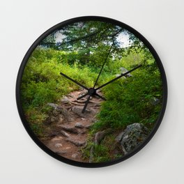 Valley of Five Lakes Trail in Jasper National Park, Canada Wall Clock