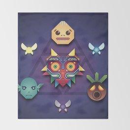 Majora's Mask Throw Blanket