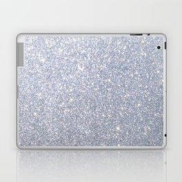 Silver Metallic Sparkly Glitter Laptop & iPad Skin
