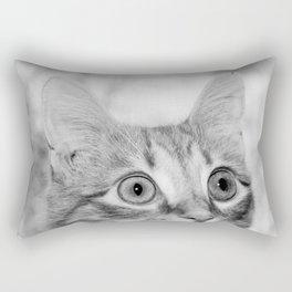 What's New KittyCat Rectangular Pillow