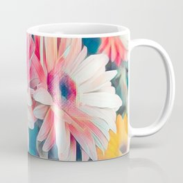 pink gerbera daisy in the vase Coffee Mug