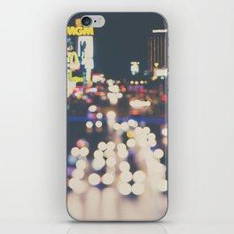 Las Vegas ... the neon town!  iPhone Skin